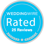 WeddingWire 25 Reviews